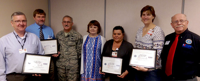 St. Mary's Health System Recognized for Patriotic Support of Reservists